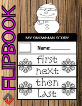 Load image into Gallery viewer, Snowman January Flipbook - Roombop