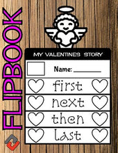 Load image into Gallery viewer, Cupid Valentines Day February Flipbook - Roombop