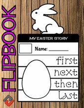 Load image into Gallery viewer, Easter Bunny April Flipbook - Roombop