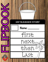 Load image into Gallery viewer, Summer Fun July Flipbook - Roombop