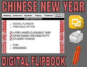 Chinese New Year Digital Flipbook