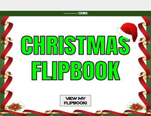 Load image into Gallery viewer, Christmas Digital Flipbook - Google Slides