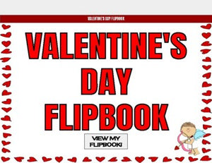 Valentine's Day Digital Flipbook - Google Slides