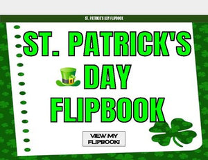St. Patrick's Day Digital Flipbook - Google Slides