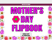 Load image into Gallery viewer, Mother's Day Digital Flipbook - Google Slides