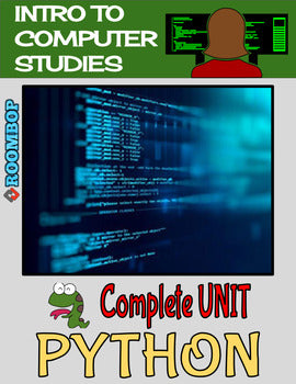 Python: Intro To Programming Unit - Intro To Computer Studies