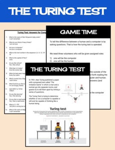 Turing Test Classroom Activity