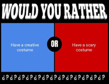 Load image into Gallery viewer, October Digital & Printable Would You Rather (Google Slides)