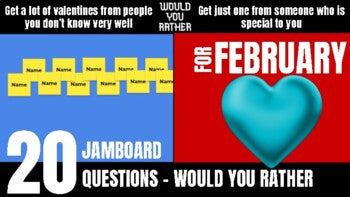 February Would You Rather JamBoard
