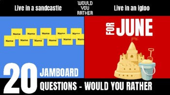 June Would You Rather JamBoard