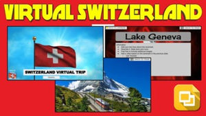 Switzerland Virtual Country Trip (Editable in Google Slides)