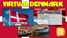 Load image into Gallery viewer, Denmark Virtual Country Trip (Editable in Google Slides)