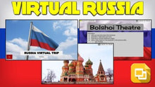 Load image into Gallery viewer, Russia Virtual Country Trip (Editable in Google Slides)