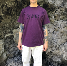 Load image into Gallery viewer, Horror Logo Tee Purple