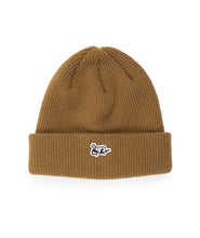 Load image into Gallery viewer, Dancer Lie Logo Beanie Mustard