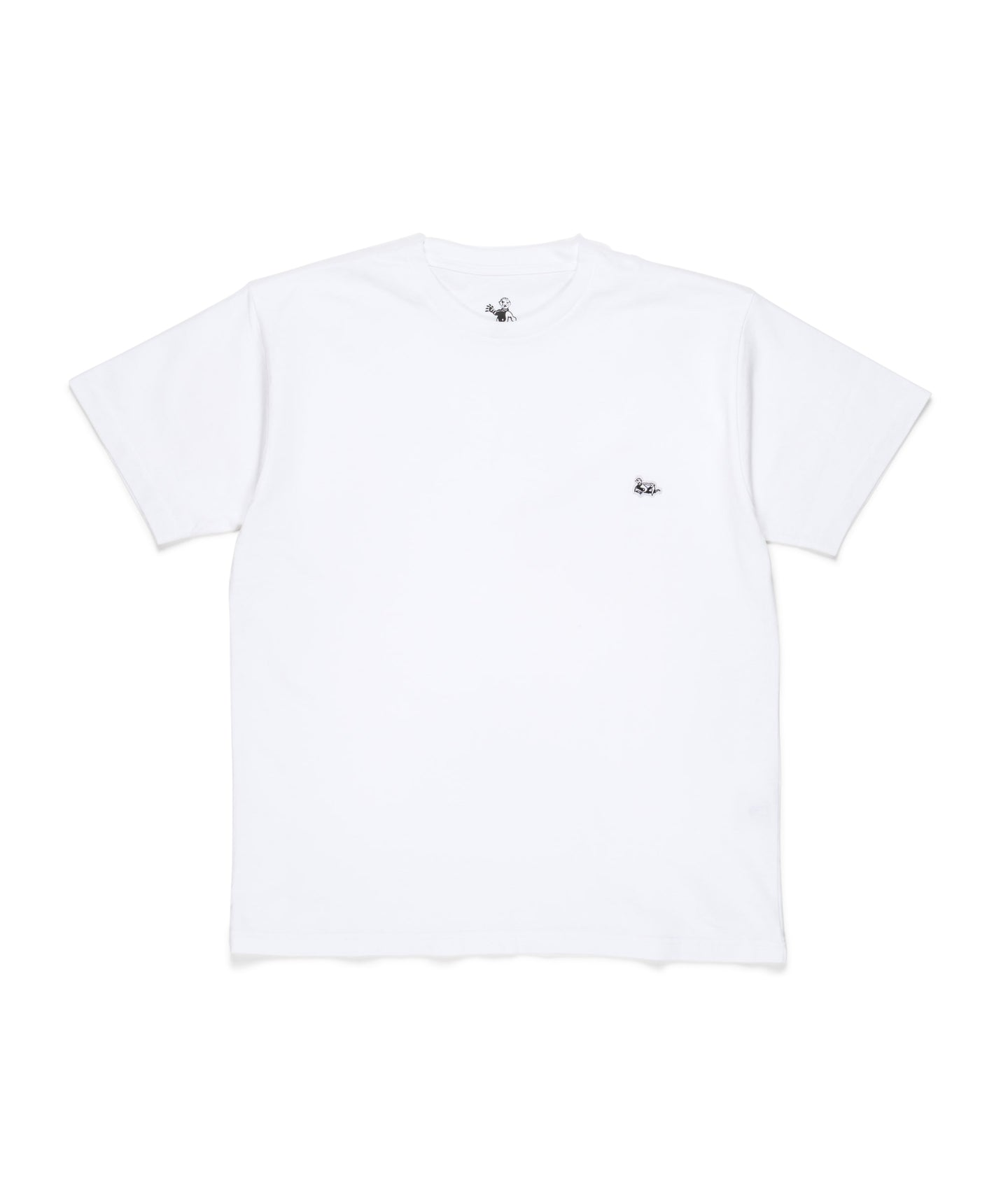 Dancer Patch Lie Tee White