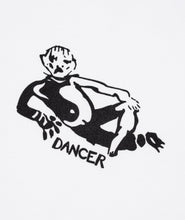 Load image into Gallery viewer, Dancer Lie Logo Tee White