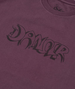 Horror Logo Tee Purple