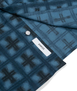 Dancer Flannel Shirt Blue