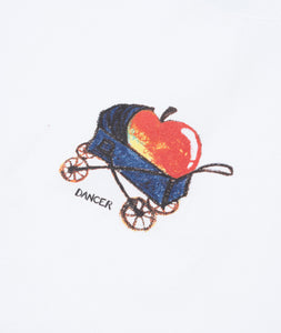 Dancer Baby Apple Tee White
