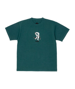 Dancer Hi There Tee Dark Teal