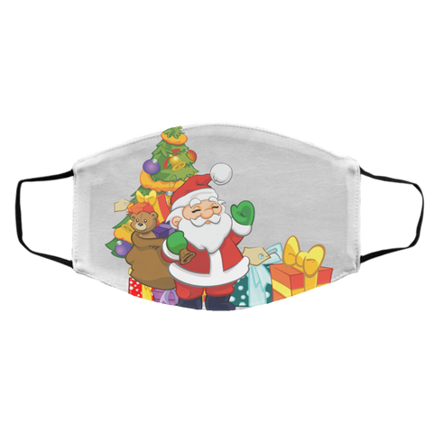 PartyFace - Santa's Gifts Med/Lg Face Mask