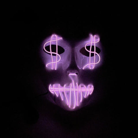 Official Sound Activated Money Face
