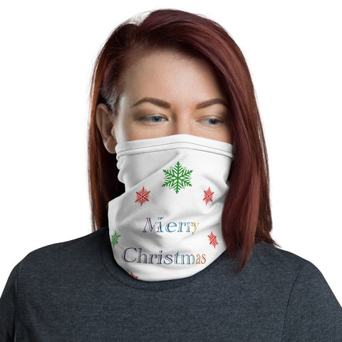 Merry Christmas Neck Gaiter