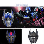 Halloween Party Supplies Glowing LED Transformer Mask