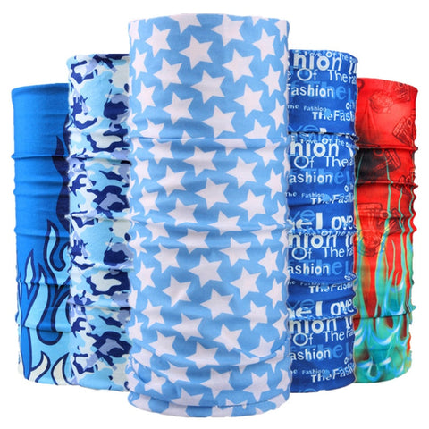 2019 Bicycle Seamless Bandanas Summer Outdoor Sport Headwear bandana Ride Mask Bike Magic Scarf Cycling Headband Sportwear