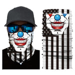 3D Seamless Bandana National Flag USA UK France Germany Multifunctional Magic Bandana Scarf Motorcycle Facemask Ski Balaclava