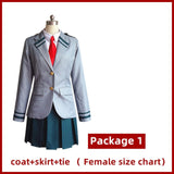 My Hero Academia Cosplay Costume Men Women School Uniform