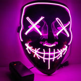 Official PartyFace™ LED Purge Masks