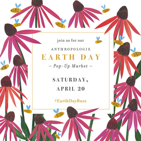 Earth Day Pop-Up at Anthropologie in Newtown, PA
