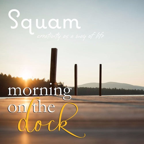 Squam Morning on the Dock | February 2016