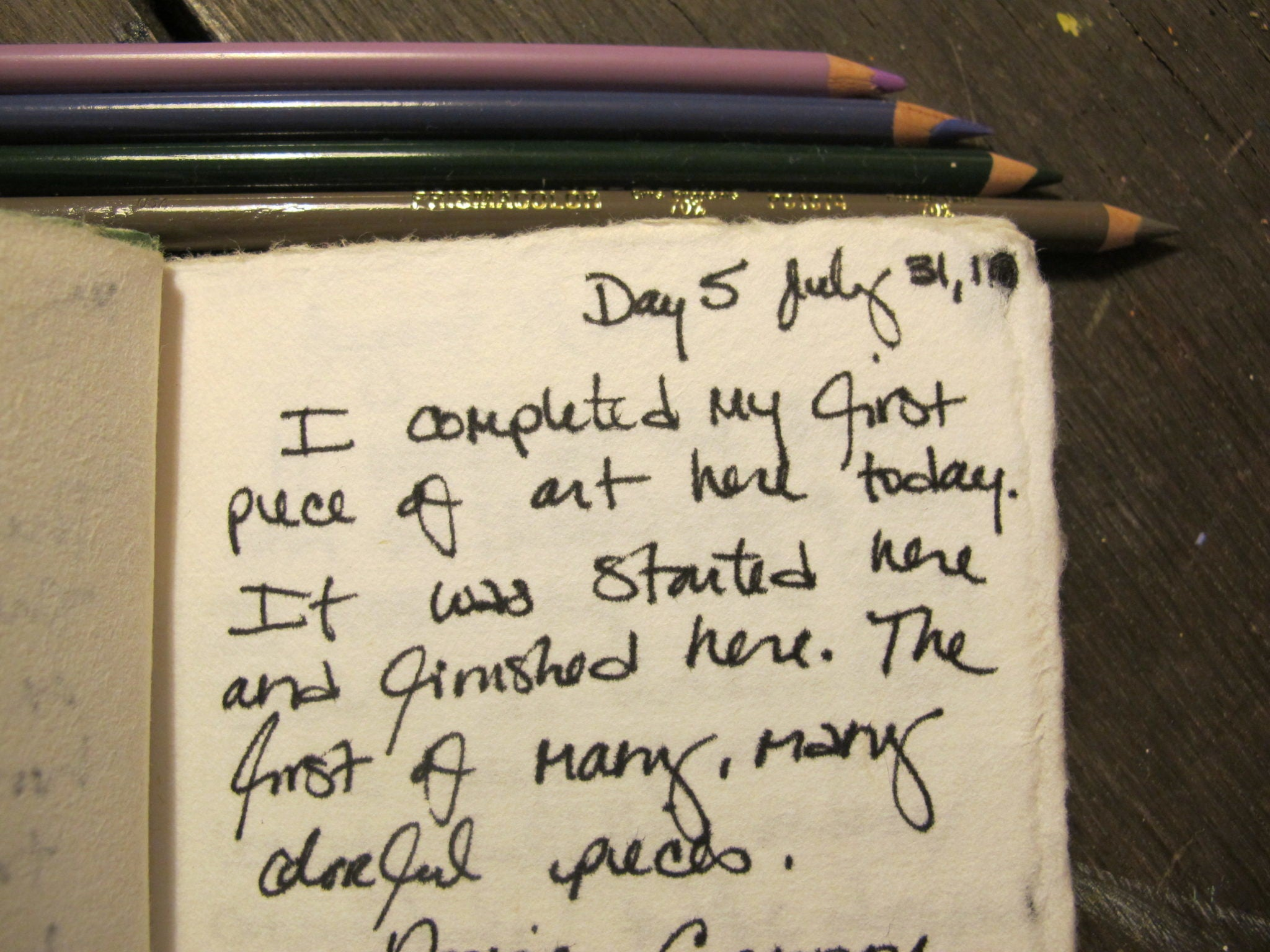 studio journal