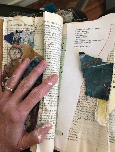 For the Writer Inside Us: Getting the Words Out Through Mixed Media, July 14th