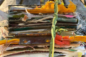 A Long Fall Weekend at my Cottage Studio: Transformation and Treasure, October 21st-24th, 2021