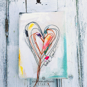 Trailing Heart Canvas