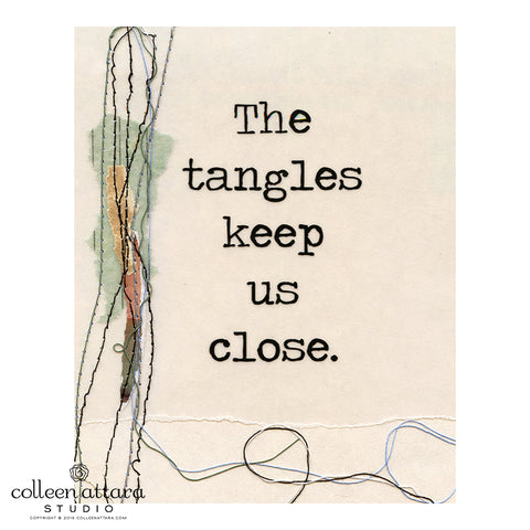 Just the Words: Tangles