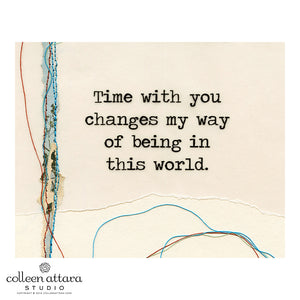 Just the Words: Time with You