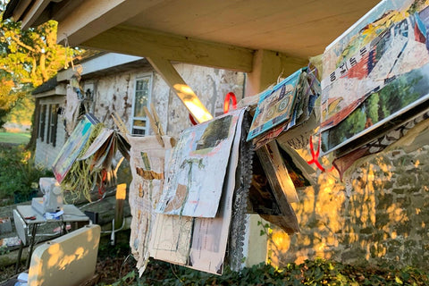 Copy of Fresh Air & Ephemera: A Spring Day at my Studio, Tuesday June 29th, 2021