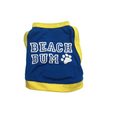 "Ruffstyles ""Beach Bum"" Pet Tank"