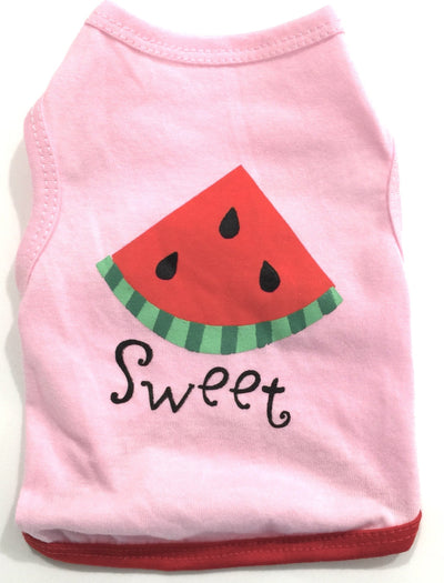 Ruffstyles Sweet Watermelon Pet Shirt