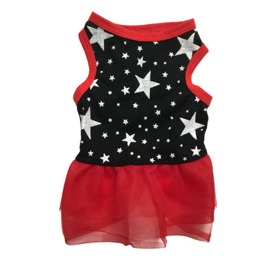 Ruffstyles Rockstar Pet Dress