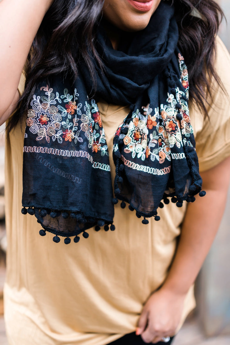Adorned And Delighted Scarf