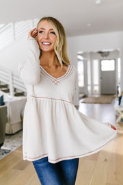 Be My Baby Babydoll Top