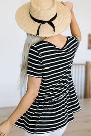 Be My Babydoll Striped Top