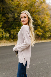 Casual + Cozy Chenille Sweater
