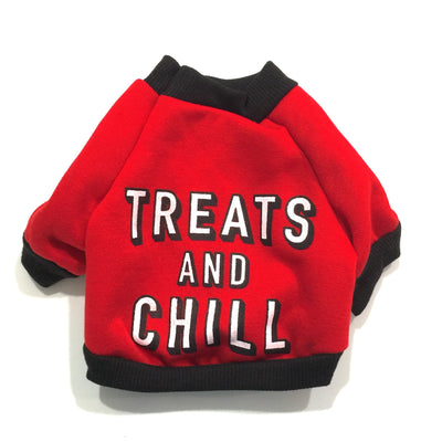 "Ruffstyles ""Treats & Chill"" Pet Shirt"